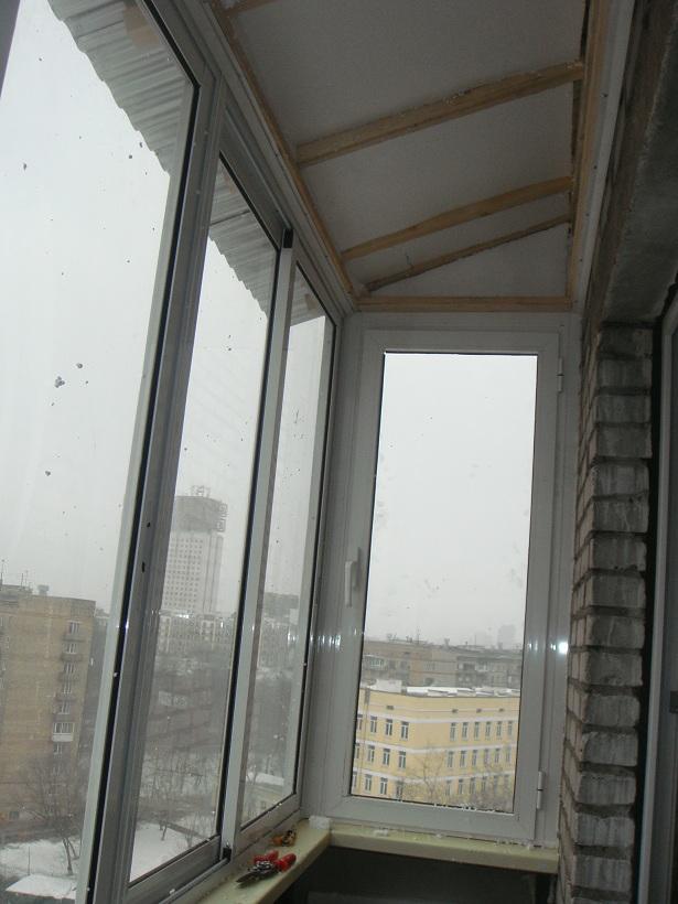 Фото крыш для балкона изнутри. - остекление лоджий - каталог.