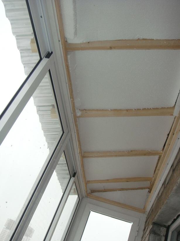 Металлический каркас под металлическую крышу на балкон..